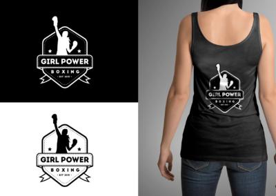 Huisstijl ontwikkeling Girl Power Boxing