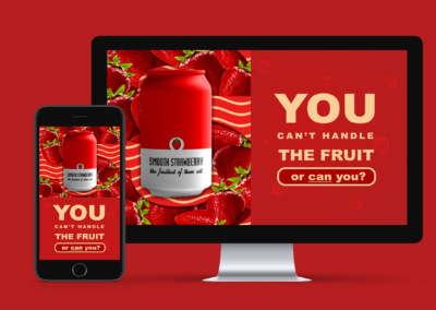 "Branding ""You can't handle the fruit"""